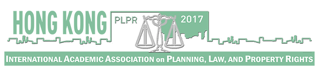 11th Conference on Planning, Law and Property Rights 2017