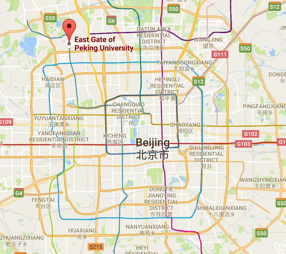 bejing-map